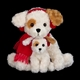 Bearington 'Buddy and Buster' 13-Inch Plush Puppies, 174000
