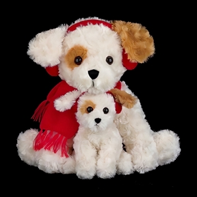 Bearington Buddy & Buster 13-Inch Plush Puppy 174000