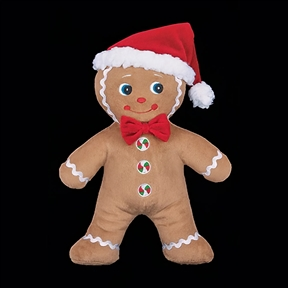 Bearington Plush Gingerbread Man, 174010