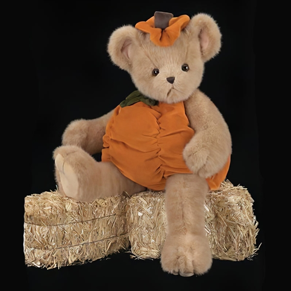 Bearington Bears 'Plumpkin Pumpkin' 10in Plush Bear, 1806