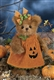 Bearington Jenna Jack O Lantern Plush Bear 181326