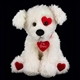 Bearington 'Smoochie Poochie' 10in Plush Puppy, 190081