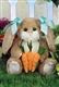 Bearington Bears 'Mia Carrots' 14in Plush Bunny Rabbit 420229