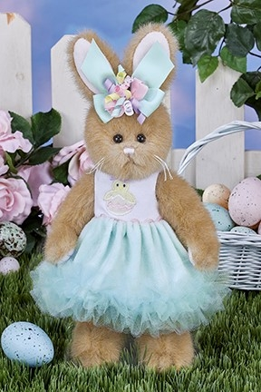 Bearington Bears Prissy Peeps 10 inch Plush Bunny Rabbit 420338