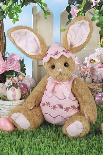 Bearington Bears Izzy A. Egg 14 inch Plush Bunny Rabbit 420442