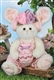 Bearington Bears Ella & Egg 14 inch Plush Bunny Rabbit 420443