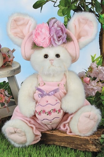 Bearington Bears 'Ella & Egg' 14in Plush Bunny Rabbit, 420443