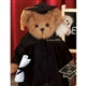 Bearington Bears 'Wise & Guy' 14in Plush Graduation Bear with Mini Owl, 1705