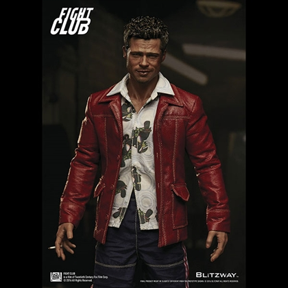 Fight Club Tyler Durden Red Jacket Ver. 1/6 Scale Figure by Blitzway