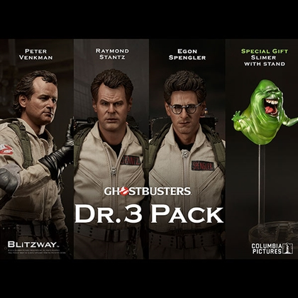 Ghostbusters Dr. 3 Pack 1/6 Scale Figure by Blitzway