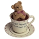 Boyds 'We Get By with a Hug' Teabeary Figurine, 24302