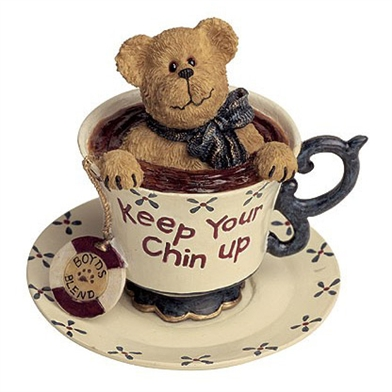 Boyds 'Keep Your Chin Up' Teabeary Figurine, 24305