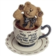 Boyds 'We Never Grow Up' Teabeary Figurine, 24308
