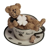Boyds 'Good Luck' Teabeary Figurine, 24309