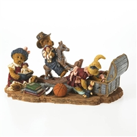 Boyds Bears Playing in the Attic Figurine, 4026238
