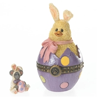 Easter Chick Trinket Box - Boyds Figurine, 4026262