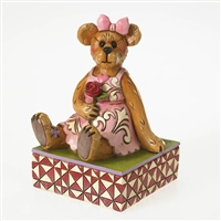 Valentine Bear with Rose - Boyds Figurine, 4026265