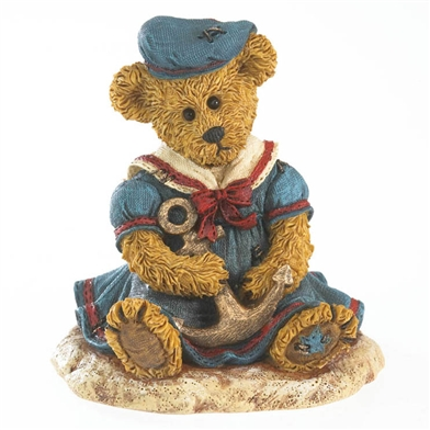 Nautical Bear with Anchor Boyds Figurine, 4027334