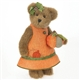 Bear in Pumpkin Dress - Boyds 12in Plush Bear, 4028318