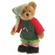 Boyds 8in Plush Christmas Elf Bear, 4028334