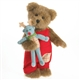 Holiday Bear with Mini Moose - Boyds 10in Plush, 4028340