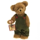 Boyds 10 inch Boy Christmas Plush Bear 4028353