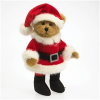 Santa Claus Bear Boyds 10in Christmas Plush, 4029221