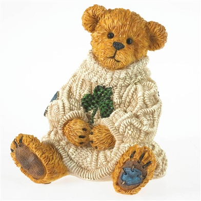 Irish Bear with Shamrock Boyds Figurine, 4031617