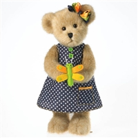 Boyds 12 inch Plush Spring Bear with Dragonfly, 4032068