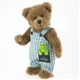 Boyds 10in Plush Bear with Frog, 4032069