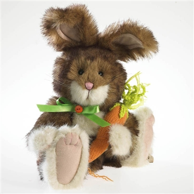 Boyds Retired Plush 10 inch Bunny with Carrot 4032077
