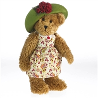 Boyds 14-inch Plush Bear in Vintage Dress, 4034122