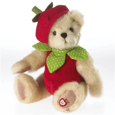 Boyds 10in 'Gala Appleseed' Plush Apple Bear, 4034127