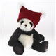 Boyds 10in 'Cody' Plush Panda Bear in Knit Winter Hat, 4035319