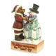 Santa Bear with Snowman - Boyds, Jim Shore Figurine, 4035829