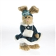 Boyds 8in 'Emily' Plush Rabbit in Winter Dress, 9150-36
