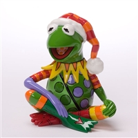 Kermit the Frog, Mini Christmas Figurine - Britto 4027901