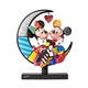 Disney Britto Mickey and Minnie on Moon Figurine