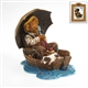 Boyds Norman Rockwell 'Bear Gone Fishin' Figurine, 4022187