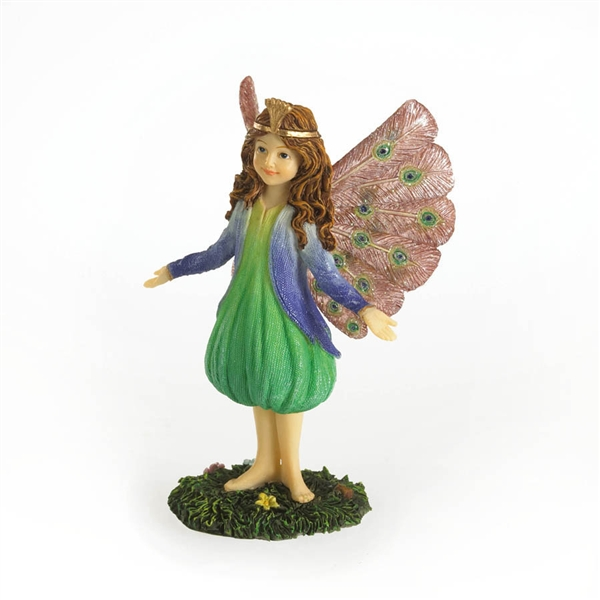 Boyds Peacock Fairy Figurine 4024645