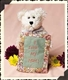 Boyds 6in 'Carrie N. Lotsalove' Plush Bear, 82518