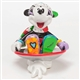 Britto Mickey in Disk Sled Disney Figurine, 4046358
