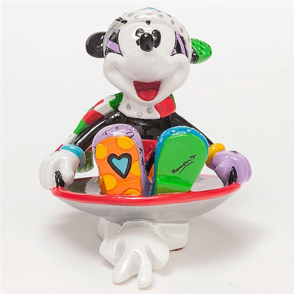 Britto Mickey in Disk Sled Disney Figurine, 4046358 | Flossie\'s ...