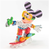 Britto Snowboarding Mickey Mouse Disney Figurine, 4046361