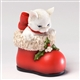 Christmas Kitten in Santa's Boot - Charming Purrsonalities Figurine, 4027986
