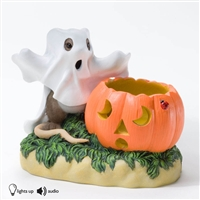 'You Have a Boo-tiful Glow About You' Charming Tails Figurine with Light & Sound, 4023628