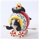 Charming Tails Skunk Ornament Figurine, 4027654