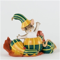 Mouse in Gourd - Charming Tails Figurine, 4027682