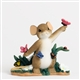 Mouse with Spring Butterflies - Charming Tails Figurine, 4030952