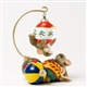 Mice Playing on Christmas Ornaments - Charming Tails Figurine, 4034345